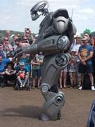 Titan The Robot.  This 7ft tall robot always pulls the crowds