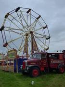 Big Wheel and Vintage Fairground Lorry to provide power