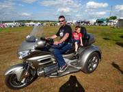 Goldwing passenger rides available in the Main Arena