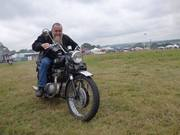 Classic Motorcyles in the main arena