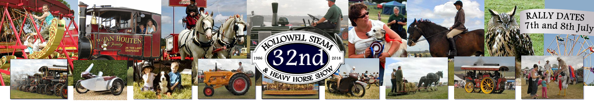Hollowell Steam Rally Northants.